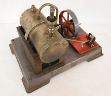Early Vintage Tin Steam Engine and Boiler Made in Germany Steampunk Frankenstein