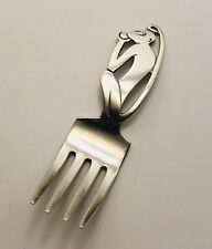 Vintage International Sterling Silver Figural Monkey Handle Baby Fork