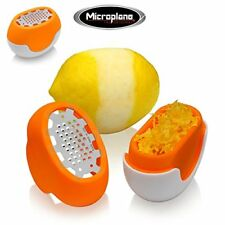Microplane Flexi Zesti Grattugia Limone Arancione