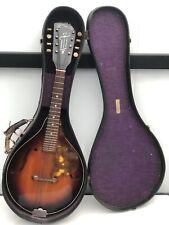 Vintage Strad-O-Lin 8-String Mandolin With Case