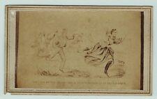 CDV Photo - Civil War - Confederate Jefferson Davis - Last Ditch  -  ca 1860s