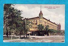 Estate 1913 LINDELL HOTEL Lincoln NEBRASKA NE 13th and M Postcard Date Posted