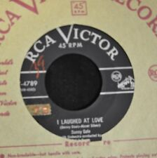 Sunny Gale RCA 4789 Father Time and I Laughed at Love