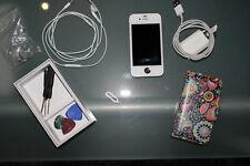 Apple iPhone 4 - 16GB - Schwarz / Weiss (Ohne Simlock) A1332 (GSM)