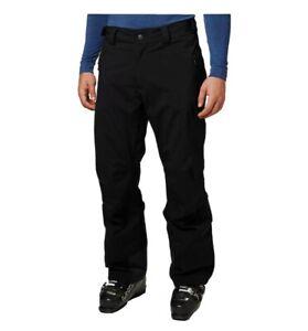 Helly Hansen Mens Legendary Short Waterproof Warm Ski Pants S/P Black Snowboard