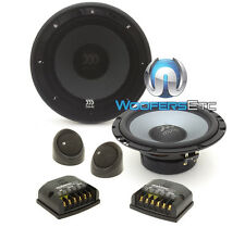 "MOREL MAXIMO ULTRA 602 6.5"" 90W RMS COMPONENT SPEAKERS TWEETERS CROSSOVERS NEW"