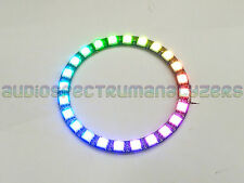 WS2812B 5050 NeoPixel Ring 24 Way Serial RGB LED with Integrated Controllers UK