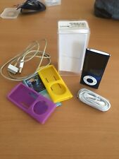Ipod nano 5th generation 8gb Blue Version with accesories!