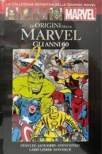 Fumetto Le Graphic Novel Marvel n 66 Le Origini Della Marvel Anni 60