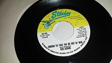 RED SOVINE I'm Waiting Just For You / Enough To Take STARDAY 915 RARE COUNTRY 45