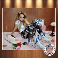 Kim Petras Autographed Signed 8x10 Photo REPRINT