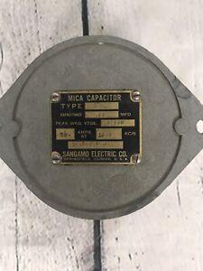 Sangamo Mica Capacitor, NOS