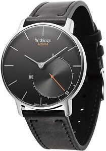 Withings Activité Sapphire Activity and Sleep Tracking Watch, Black, Fitness NEW