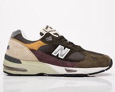 New balance 991 Hecho en Reino Unido Para Hombre Casuales Atléticas Zapatos Zapatillas de estilo de vida Verde