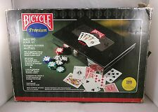 Bicycle Masters 300 8-Gram Clay Composite Poker Chip Set in a Black Lacquer Box