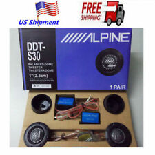 "NEW 360W Alpine DDT-S30 2.5CM 1"" Soft Dome Balanced Car Audio Speakers Tweeters"