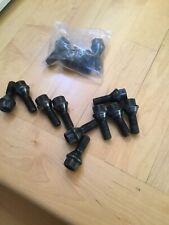 5x BMW Black Lug Bolt 36136781150