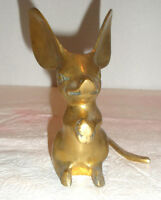 Vintage LEONARD Brass Mouse Figurine or Paperweight
