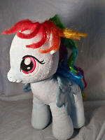 "My Little Pony: 13"" Rainbow Dash Build A Bear Plush Toy"