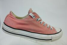 CONVERSE All-Star Pink Sz 7 Women Low Canvas Sneakers