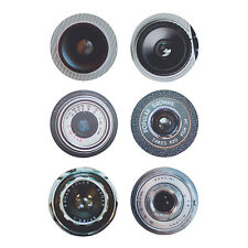 Ella Doran - Camera Lenses 6 Piece Coaster Set in Gift Box