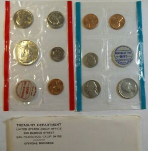1970 United States US Mint Uncirculated Coin Set