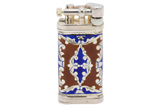 Sillems LEA Old Boy Red/Blue Double Sided Pipe Lighter