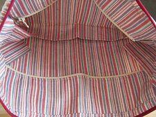 LONGABERGER LINER WEEKEND TOTE ITEM 28154130 - Market Stripe Pattern NIB!