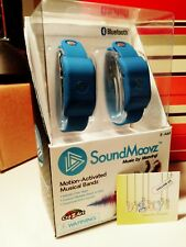 SOUNDMOOVZ  Motion Activated Musical Arm Band BLUE - 8-Adult includes apps BNIB