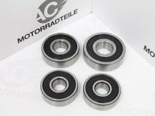 """HONDA CB CL SL 350 K Bearing Set Front + Rear Wheel Hub COMPLETE """"fabriqué au Japon"""""""