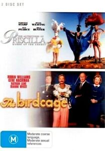 The Adventures Of Priscilla Queen Of The Desert + The Birdcage : 2 Disc  NEW DVD