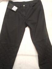 Belstaff Women's Cotton Fitzroy 5 Pocket Trousers Pants NWT size 27 $350 Black