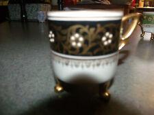 Mitterteich Bavaria Made in Germany Demitasse 4 Tea Cups  # 39  Antique Vintage