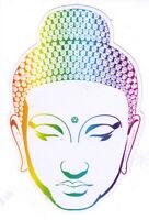 Buddha Head - Small Spiritual Bumper Sticker / Decal