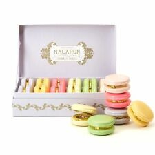 Mini Small Macaroon Trinket Box Pill Holder ~ Colour Vary