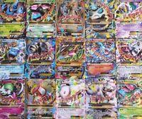100 Pokemon Cards Pack - All Packs GUARANTEED MEGA EX or GX! +15 Rare/Rev Holo