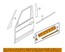 LAND ROVER OEM Range Rover Sport Front Door-Lower Molding Trim Left LR024159
