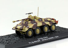 Panzer SD KfZ 234/4 Wehrmacht 1944 Fertigmodell 1:72 Altaya Modell