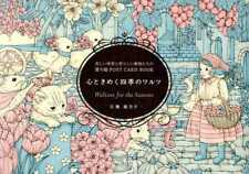 Waltzes for the Seasons - Post Card Size Japanese Coloring Book by Kanoko Egusa