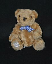 Peluche doudou ours MARKS & SPENCER Connoisseur Bear Collection 15 cm assis TTBE