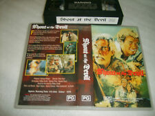 Vhs *SHOUT AT THE DEVIL(1976)* 1990's Issue - Lee Marvin:Roger Moore Thriller S2