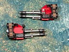 Dreadnought twin linked autocannons set Space Marine 40k Warhammer
