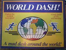 WORLD DASH board game- VINTAGE 1999