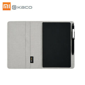 Kaco Noble Paper NoteBook PU Leather Card Slot Wallet Book N8V8
