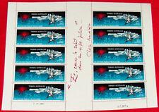 FSAT French Antarctic sheet 1983  Mathieu #C77 TAAF Y 78