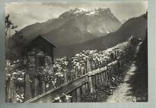 bella cartolina di montagna luogo sconosciuto piccola baita