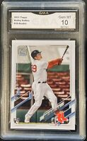 2021 Topps Bobby Dalbec Rookie #26 Gem 10 Red Sox