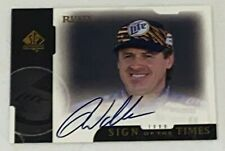 Rusty Wallace HOF UPPER DECK SP AUTHENTIC autographed 1999 SIGN OF THE TIMES crd