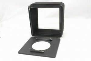 Wista 4x5 Monorail Camera Lens Board Adapter and Standard Bellows *N4