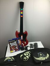 Playstation 2 - Guitar Hero Controller - Red Octane - Corded - Wired - Games PS2